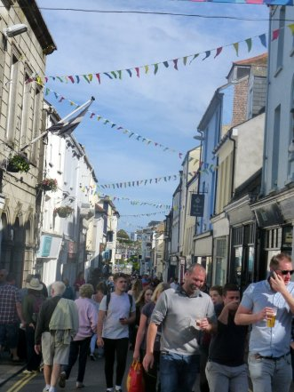 Falmouth is busy