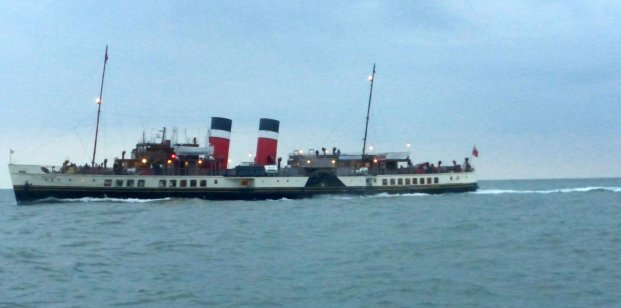 """Waverley"" overtook me at dusk"