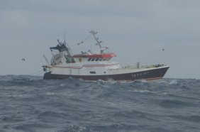 Fisherboat in Biscay