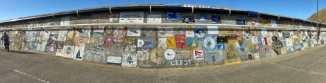 Hundreds of yachts' signature artwork
