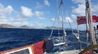 Leaving Porto Santo astern