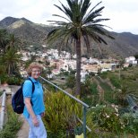 Walking around Vallhermosa, Gomera.....