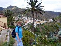 Walking around Vallhermosa, Gomera.....