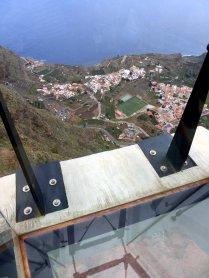View from hillside restaurant