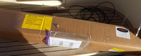 Box with new shaft