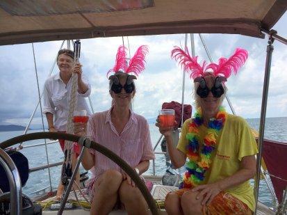 Henrietta's crew...