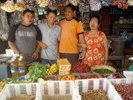 friendly market stall..